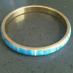 Jewelry - Faux Turquoise Bangle Bracelet